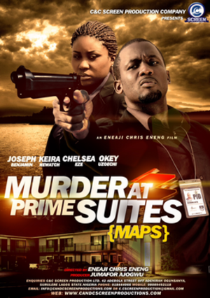 Murder at Prime Suites - Theatrical poster