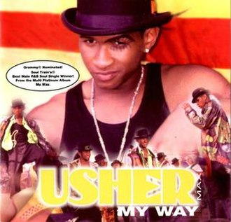 My Way (Usher song) - Image: Mywayushersingle