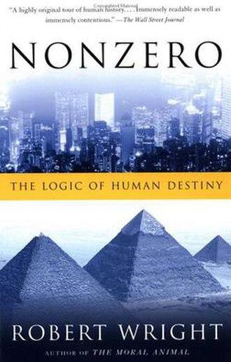 Nonzero: The Logic of Human Destiny - Image: Nonzero The Logic of Human Destiny cover