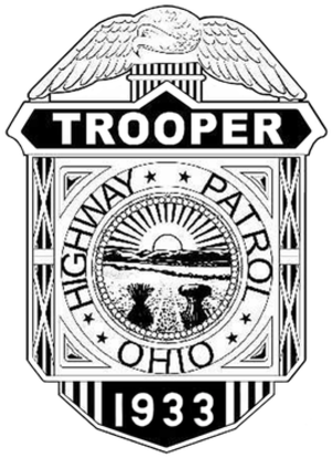 OH - Highway Patrol Badge