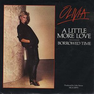 A Little More Love (Olivia Newton-John song) - Image: ONJ A Little More Love