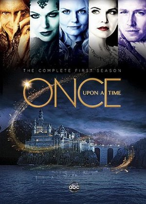 Once Upon a Time (season 1) - DVD cover