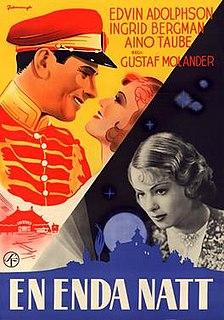 <i>Only One Night</i> (1939 film) 1939 film by Gustaf Molander