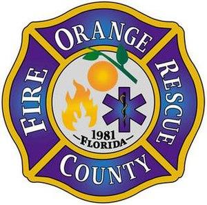 Orange County Fire Rescue - Image: Orange County Fire Rescue Department Logo