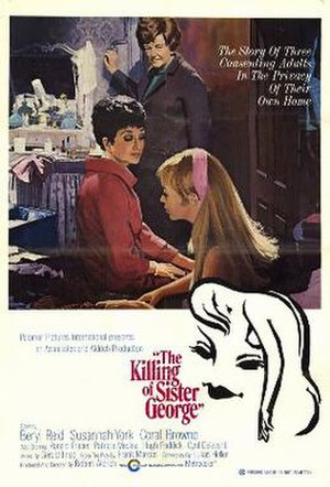 The Killing of Sister George (film) - Original film poster