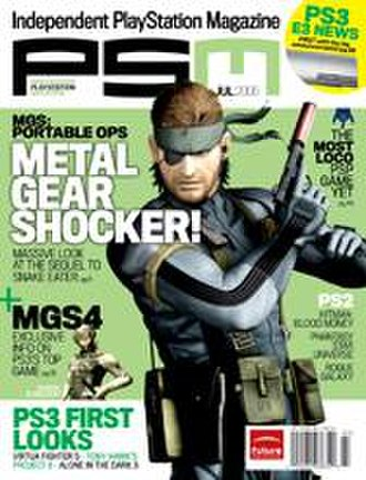 PlayStation: The Official Magazine - A cover near the end of the magazine's run as PSM