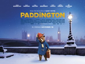 Paddington (film) - UK theatrical release poster