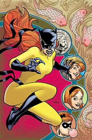 Patsy Walker - Hellcat. Art by Stuart Immonen.