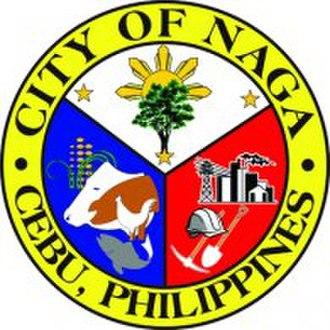 Naga, Cebu - Image: Ph seal nagacitycebu logo