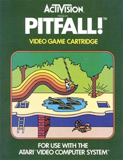 Picture of a game: Pitfall!