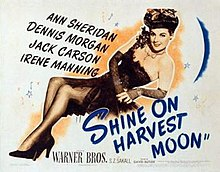Poster of the movie Shine On, Harvest Moon.jpg
