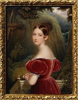 Henry Collen - Princess Victoria, by Henry Collen (1836) at the age of 17, the year before she became Queen.