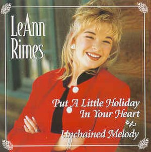 Blue (LeAnn Rimes album) - Image: Put a Little Holiday in Your Heart
