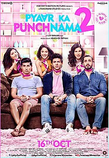 Pyaar Ka Punchnama 2 (2015) Hindi DVDRip 720p 1GB AAC MKV