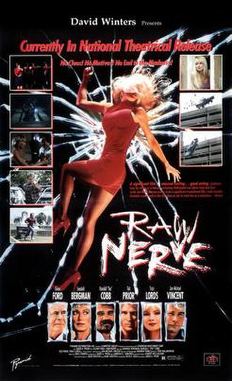 Raw Nerve (1991 film) - Raw Nerve theatrical poster
