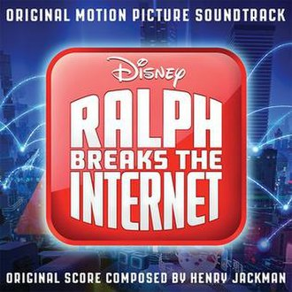 Ralph Breaks the Internet (soundtrack) - Image: Ralphinternet