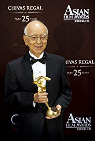 Raymond Chow - Raymond Chow at the 5th Asian Film Awards in 2011