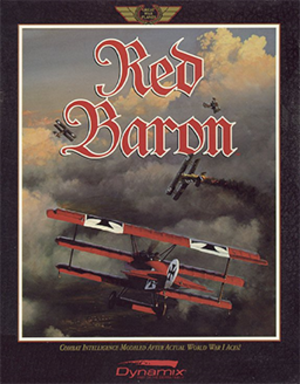 Red Baron (1990 video game) - Image: Red Baron Coverart