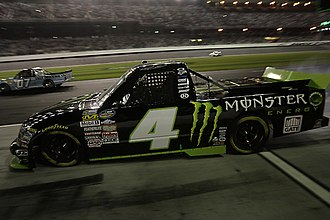 Turner Scott Motorsports - Ricky Carmichael pulling out of pit road at Daytona in 2011.