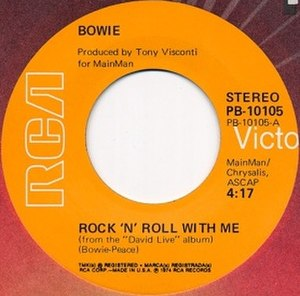 Rock 'n' Roll with Me - Image: Rock 'n' Roll with Me single cover