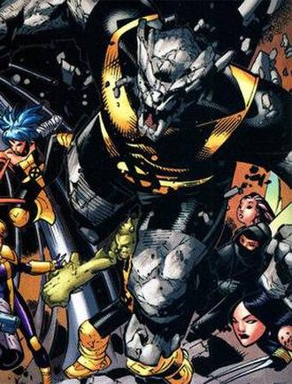 Rockslide (comics) - Image: Rockslide