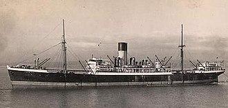 1932 Cuba hurricane - Image: S.S. Phemius