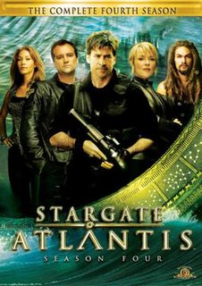 <i>Stargate Atlantis</i> (season 4) season of television series