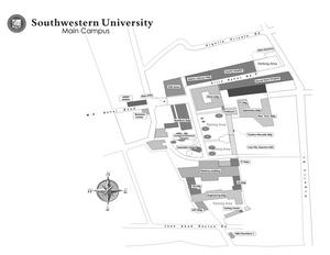 Southwestern University (Philippines) - Image: SWU Map