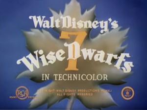 7 Wise Dwarfs - Title frame