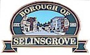 Selinsgrove, Pennsylvania - Image: Selinsgrove Boro Sign 1sml