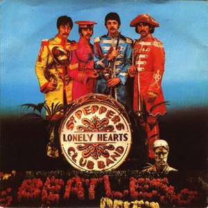 Sgt. Pepper's Lonely Hearts Club Band (song) - Image: Sgtpepperslonelyhear tsclubbandsinglecove r