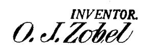 Otto Julius Zobel - Image: Signature