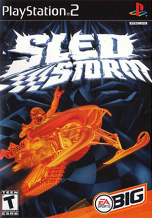 Sled Storm - Image: Sled Storm (2002) Coverart