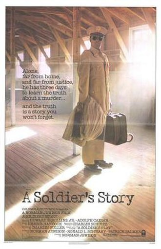 A Soldier's Story - Theatrical release poster