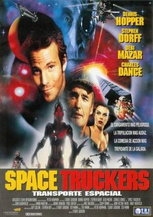 Space Truckers - Spanish language theatrical release poster