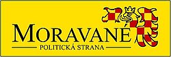 Logo of Moravané party