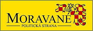 Moravané - Logo of Moravané party