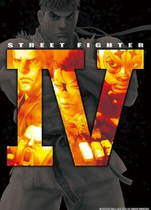 Street Fighter IV - Image: Street Fighter IV (flyer)