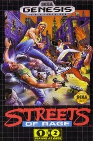 Streets of Rage (video game) - Image: Streets of Rage (cover)
