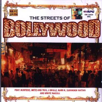 Streets of Bollywood - Album cover