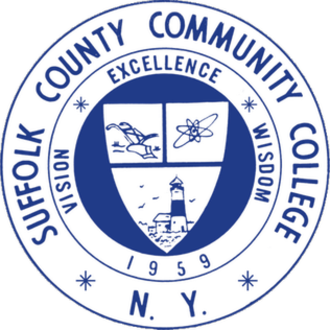 Suffolk County Community College - Seal of Suffolk County Community College