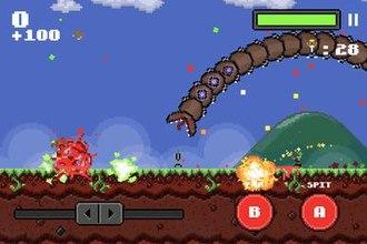 Super Mega Worm - Gameplay of Super Mega Worm