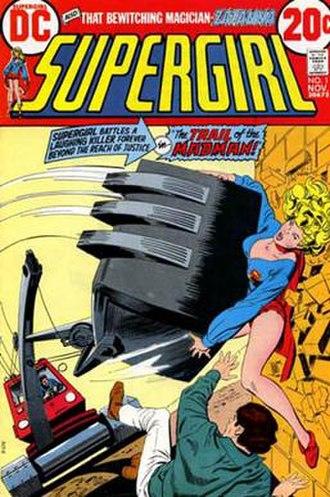 Supergirl (comic book) - Image: Supergirl v 1 1
