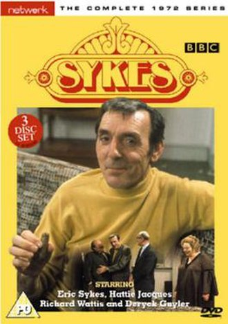 Sykes - Eric Sykes on Sykes DVD cover