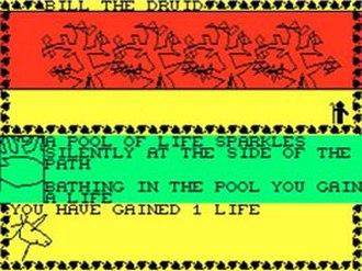 Talisman (video game) - Gameplay screenshot.