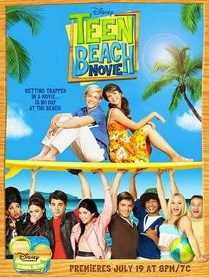 Teen Beach Movie - Television release poster