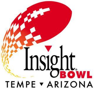 2006 Insight Bowl Annual NCAA football game