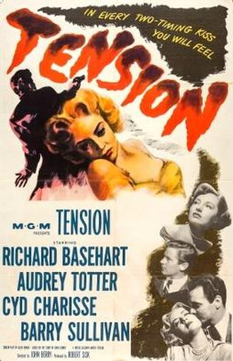 Tension (film) - Theatrical release poster