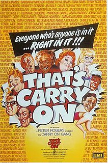 <i>Thats Carry On!</i> 1977 film by Gerald Thomas