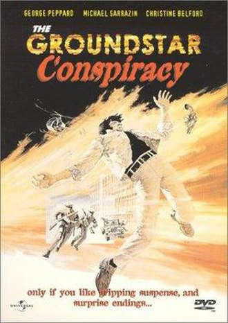 The Groundstar Conspiracy - DVD cover